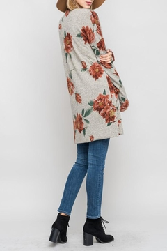 Bellamie Fall Floral Cardigan - Alternate List Image