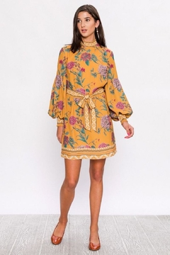 Flying Tomato Fall Floral Dress - Product List Image