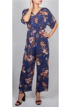 Shoptiques Product: Fall Floral Jumpsuit