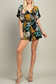 143 Story Fall Floral Romper - Product Mini Image