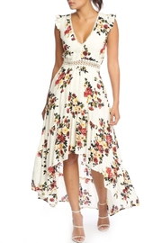 luxxel Fall Florals Maxi - Front cropped