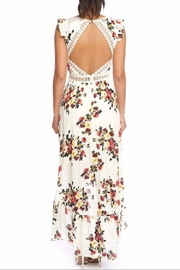 luxxel Fall Florals Maxi - Front full body