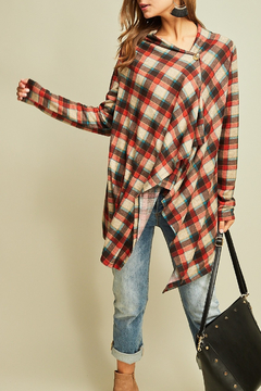 Entro  Fall For Plaid top - Product List Image