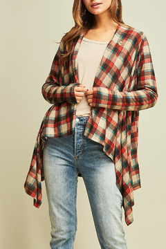 Entro  Fall For Plaid top - Alternate List Image