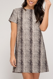She and Sky Fall Forward Dress - Front cropped