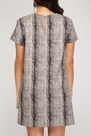 She and Sky Fall Forward Dress - Front full body