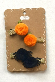 Mud Pie Fall Hair Clips - Front cropped