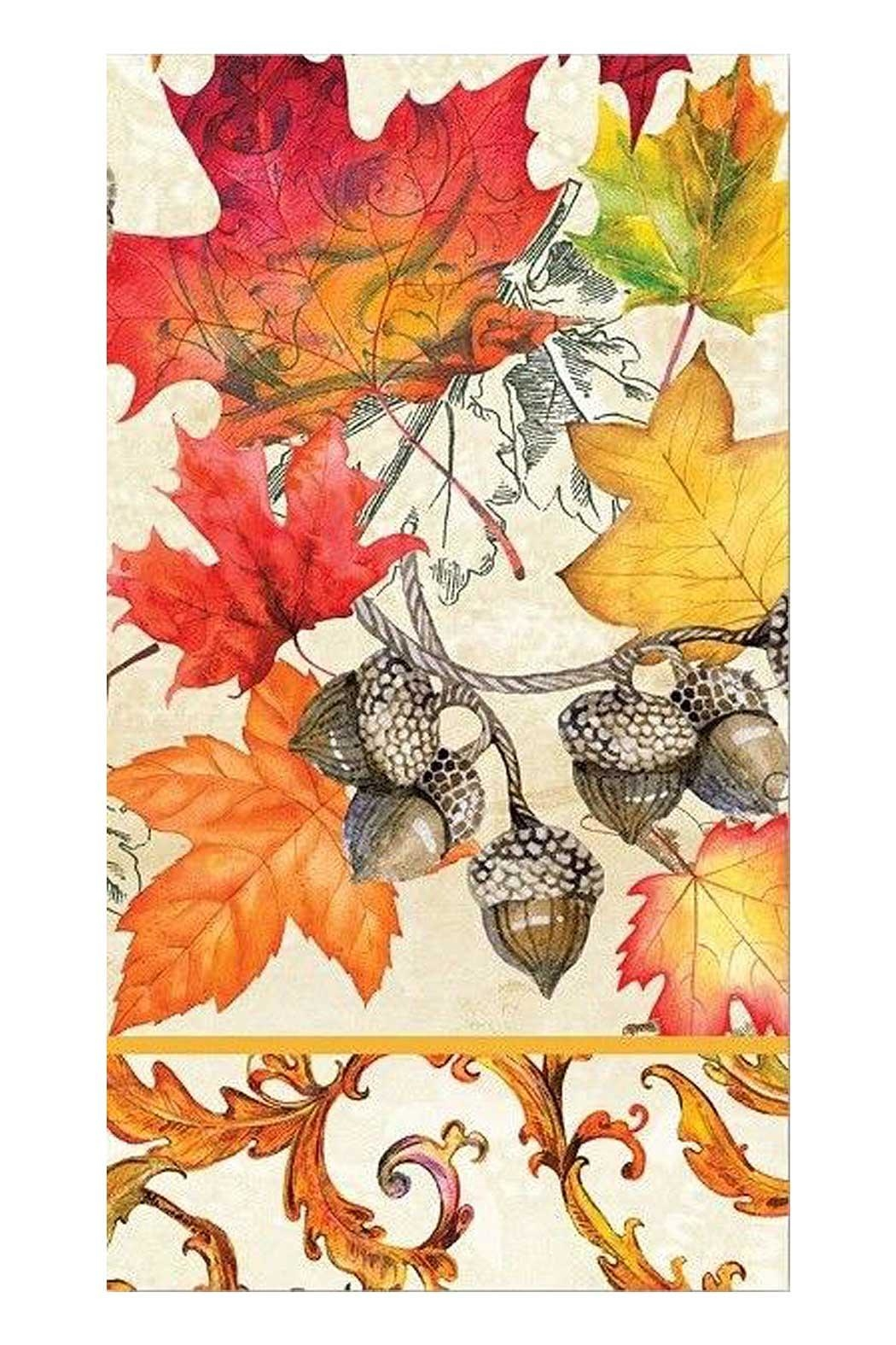 Michel Design Works Fall Hostess Napkin - Main Image