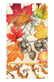 Michel Design Works Fall Hostess Napkin - Front cropped