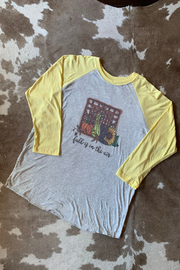 Lucky Bird Clothing CO. Fall is in the air.. Raglan Tee - Product Mini Image