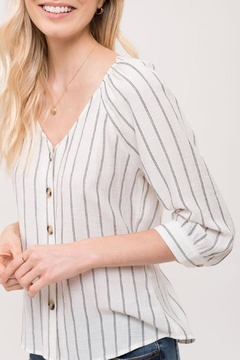 Blu Pepper Fall Ivory Top - Product List Image
