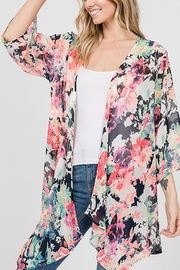 Lyn-Maree's  Fall Kimono - Front cropped