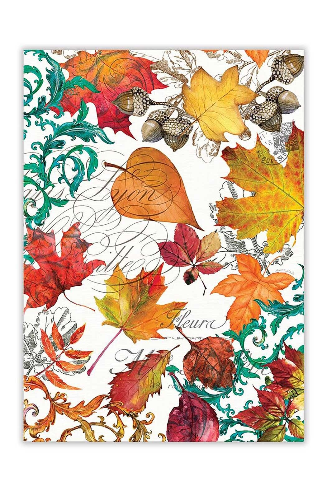 Michel Design Works Fall Kitchen Towel   Front Cropped Image