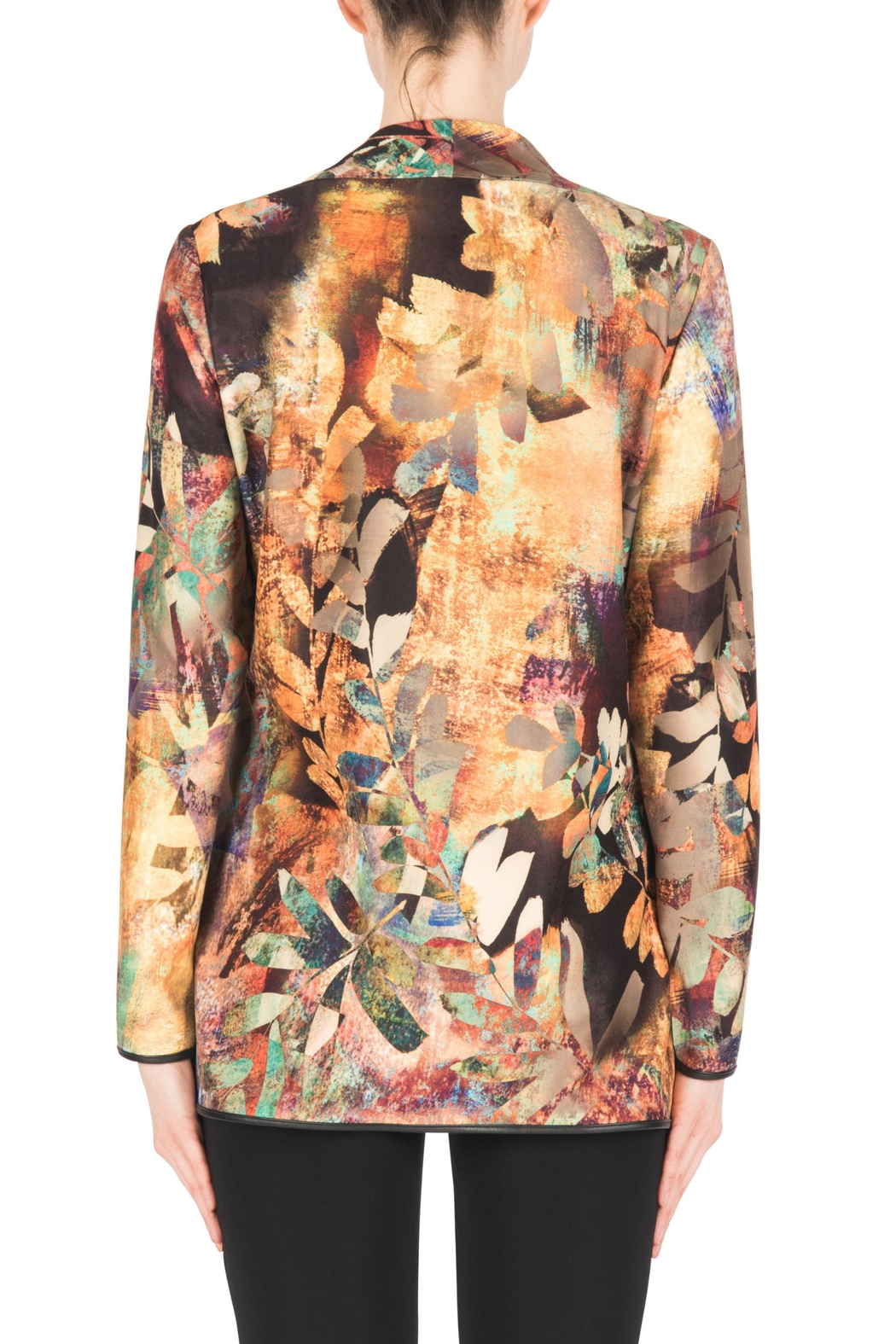 Joseph Ribkoff Fall Print Jacket - Side Cropped Image
