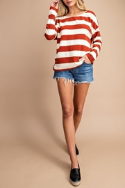 eesome Fall Stripes Top - Product Mini Image