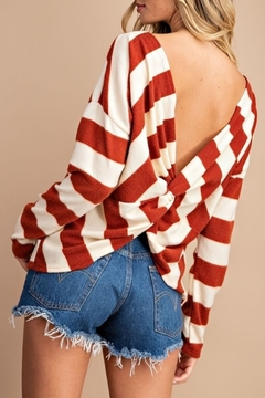 eesome Fall Stripes Top - Alternate List Image