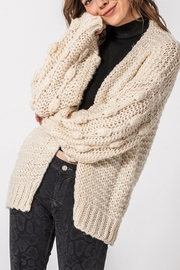 Favlux Fall Style Cardigan - Front cropped