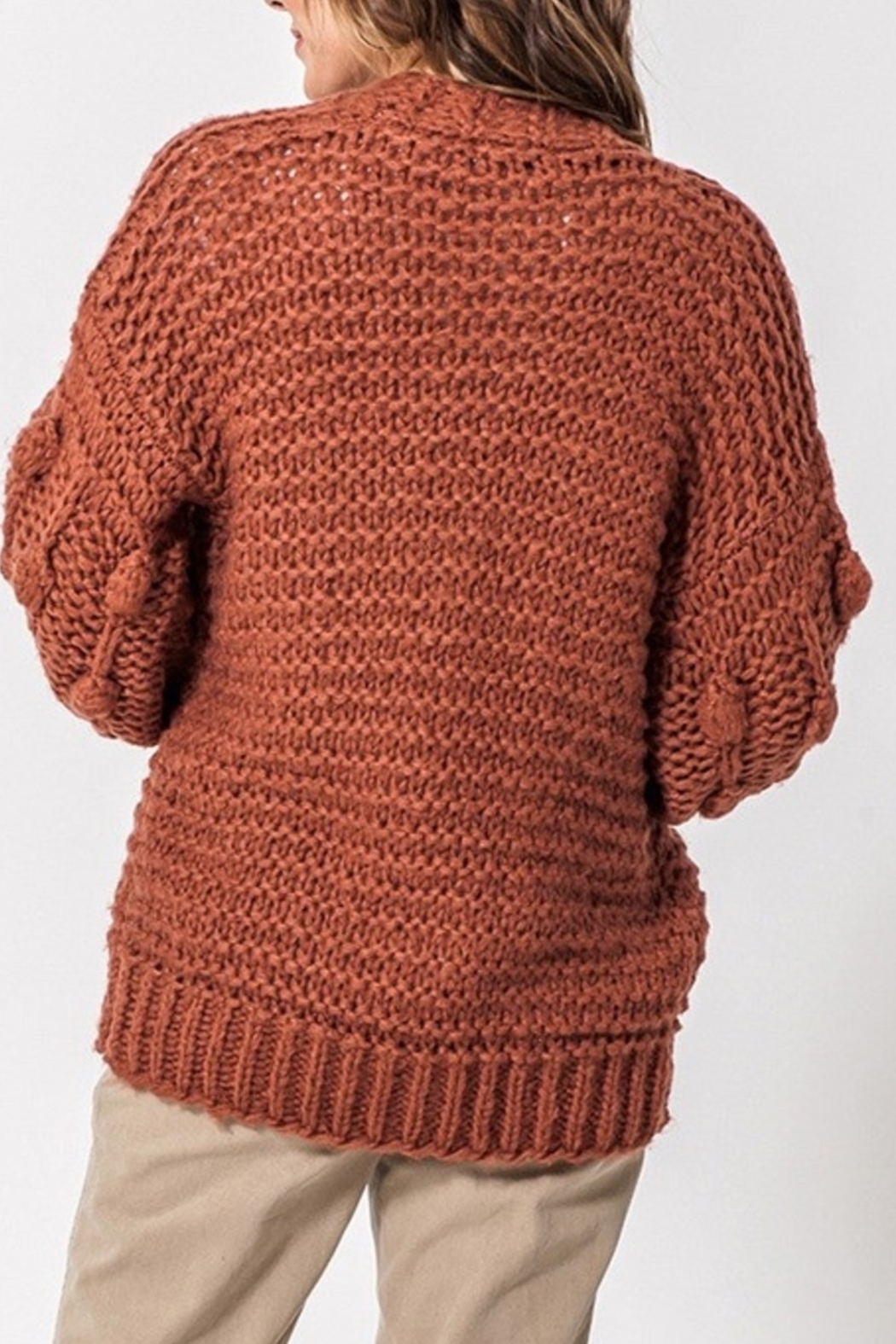 Favlux Fall Style Cardigan - Front Full Image