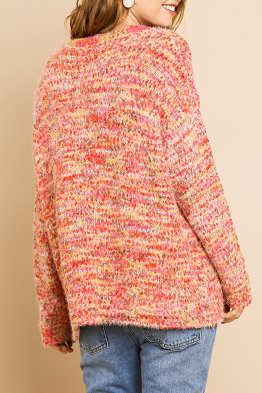 Umgee  Fall Style Sweater - Front Full Image
