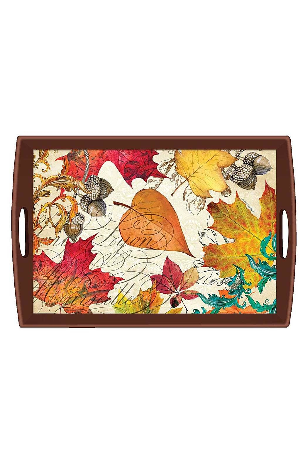 Michel Design Works Fall Symphony Tray - Main Image