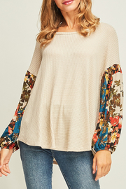 Entro  Fall Trend top - Product Mini Image