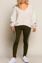 POL  Falling Almond Sweater - Product Mini Image