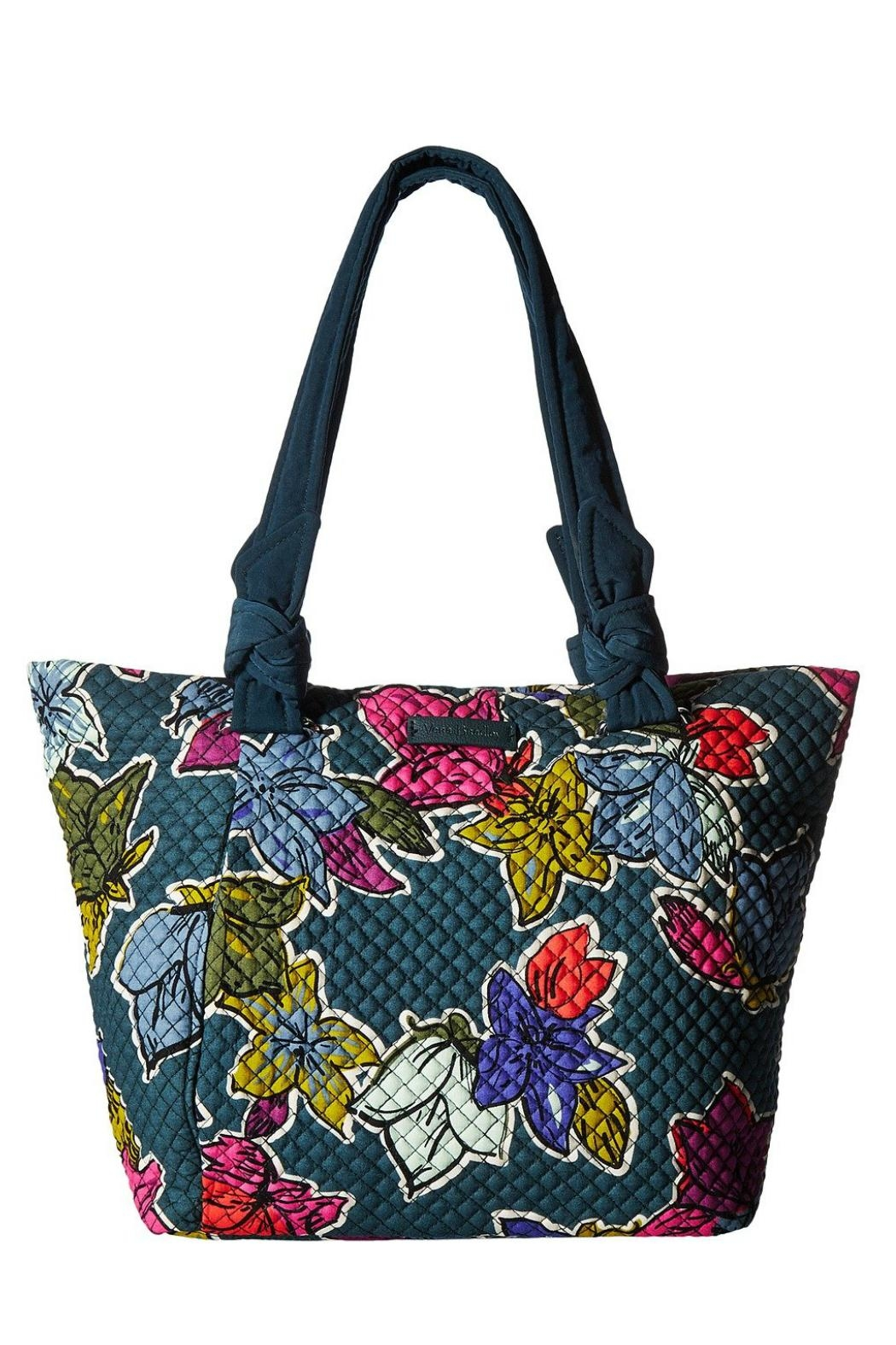 Vera Bradley Falling Flowers East-West - Front Cropped Image