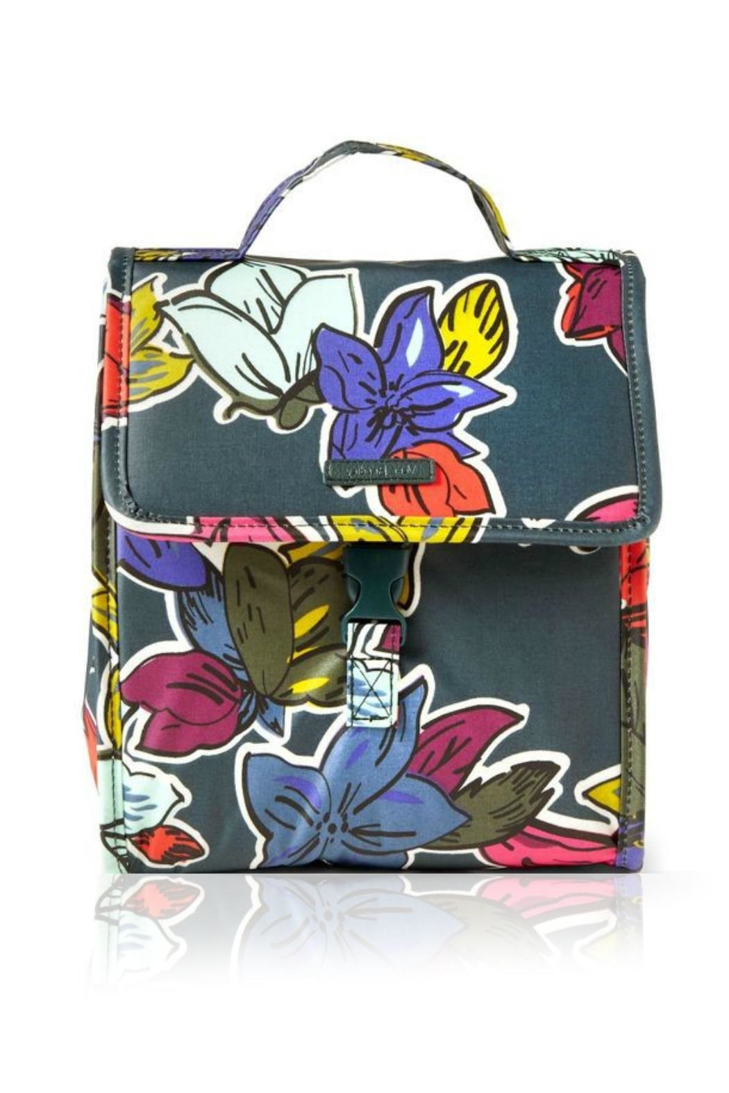 Vera Bradley Falling Flowers Lunch-Sack - Main Image
