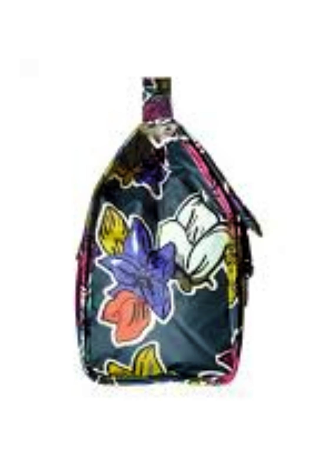Vera Bradley Falling Flowers Lunch-Sack - Front Full Image
