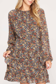 She and Sky Falling for Floral dress - Product Mini Image