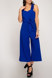 She + Sky Falling For You Jumpsuit - Product Mini Image