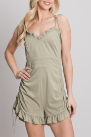 Allie Rose Falling for You romper - Product Mini Image