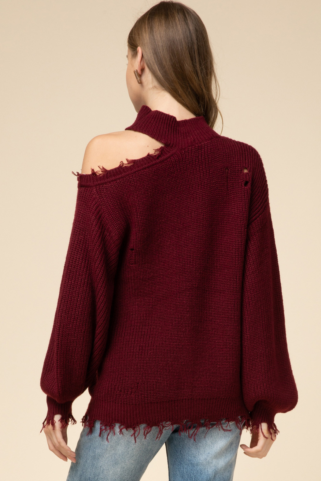 Entro  Falling For You Sweater - Front Full Image