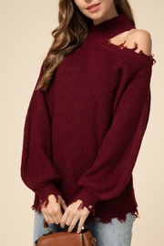 Entro  Falling For You Sweater - Front cropped