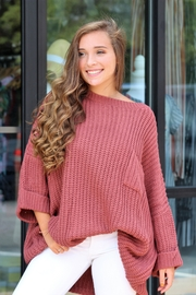 Jodifl Falling For You Sweater - Front cropped