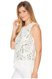 Nic + Zoe Falling Lace Top - Product Mini Image