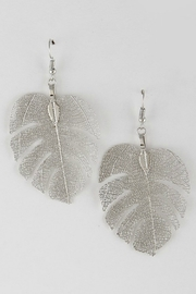 H & D Falling Leaf Earrings - Front cropped