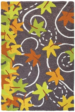 Jelly Bean Rugs Falling Leaves - Product List Image