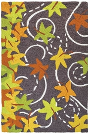 Jelly Bean Rugs Falling Leaves - Product Mini Image