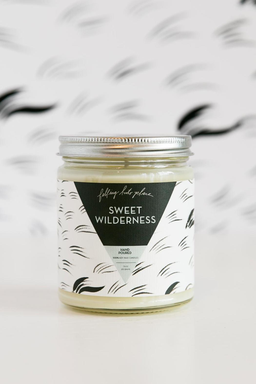 Falling Into Place Sweet Wilderness Candle - Main Image