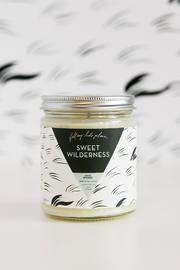 Falling Into Place Sweet Wilderness Candle - Front cropped