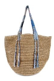 Fallon & Royce Gemma Straw Bag - Front cropped