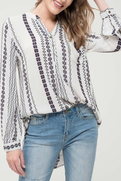 Shoptiques Product: Falynn Printed Blouse