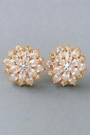 Fame Accessories Blossom Wedding Earrings - Product Mini Image