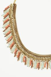 Fame Accessories Faded Fringe Necklace - Front full body