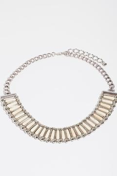 Fame Accessories Kindness Faux Ivory Necklace - Product List Image