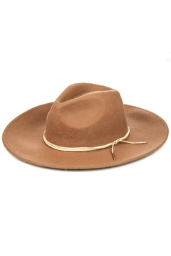 Fame Accessories Sierra Hat With Tie Brim Detailing In - Alternate List Image