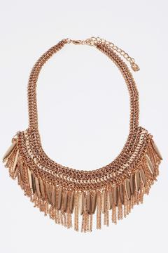 Fame Accessories Sophisticated Fringe Necklace - Alternate List Image