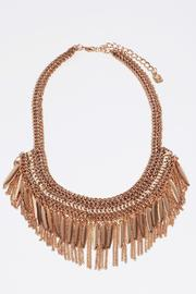 Fame Accessories Sophisticated Fringe Necklace - Product Mini Image