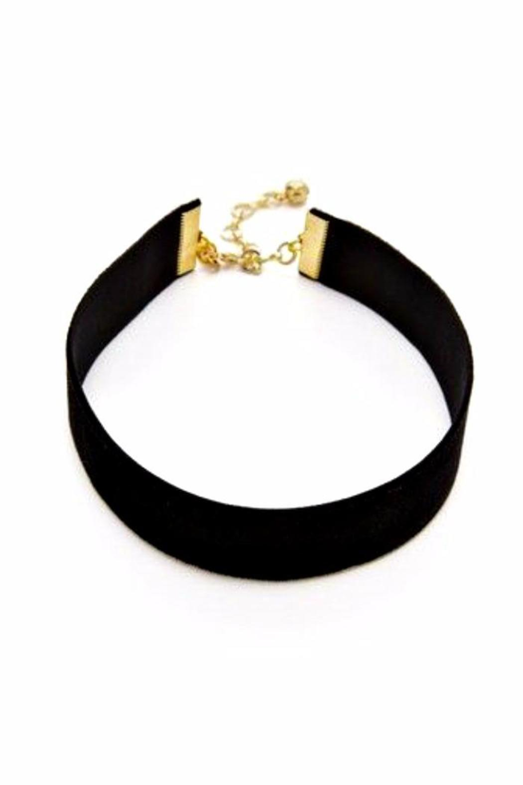 Fame Accessories Velvet Choker - Main Image